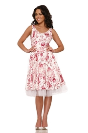 Hearts and Roses Blushing Roses Dress - Front full body
