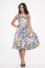Hearts and Roses Country Garden Dress - Front full body