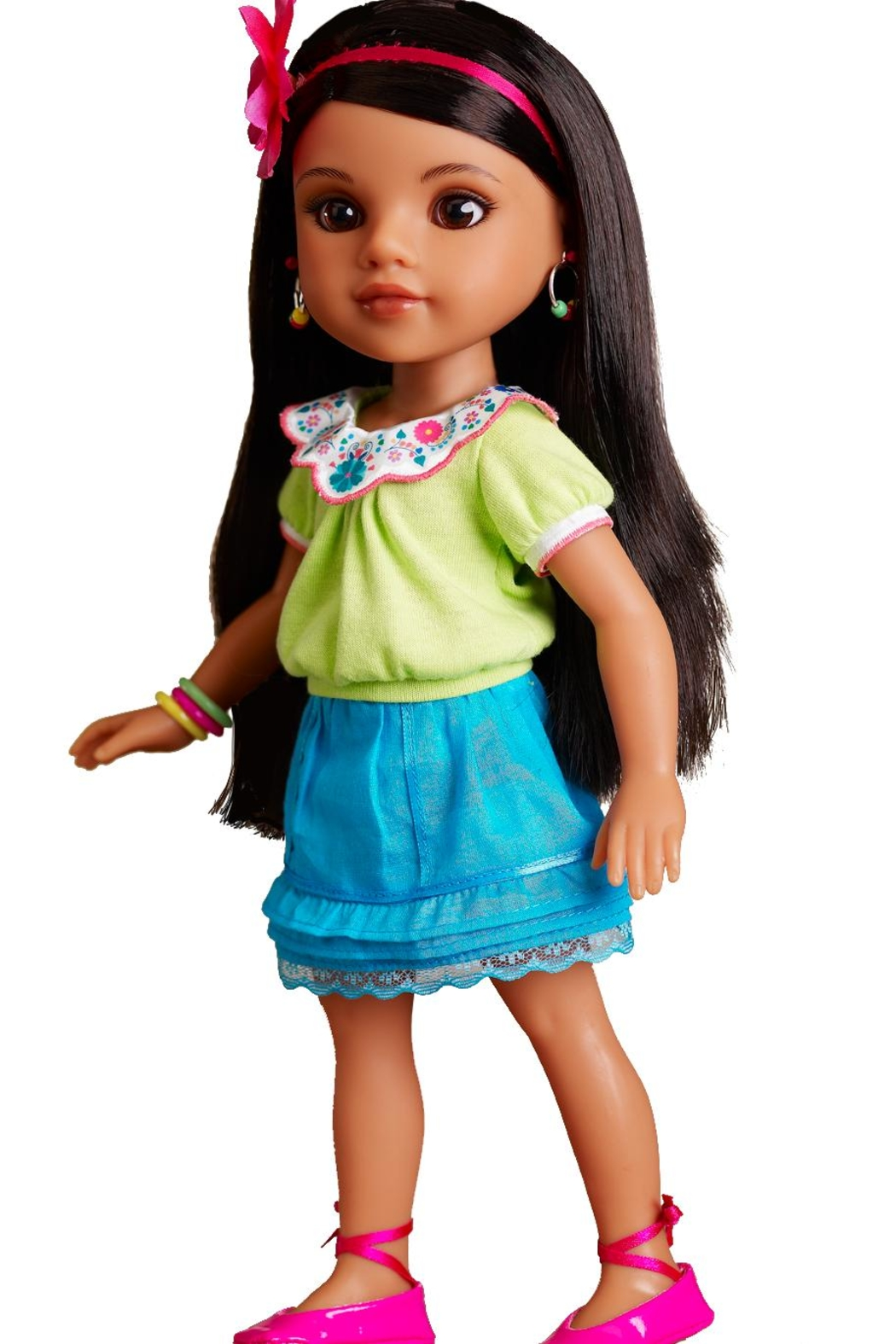 Hearts for Hearts Dolls Consuelo Doll - Side Cropped Image