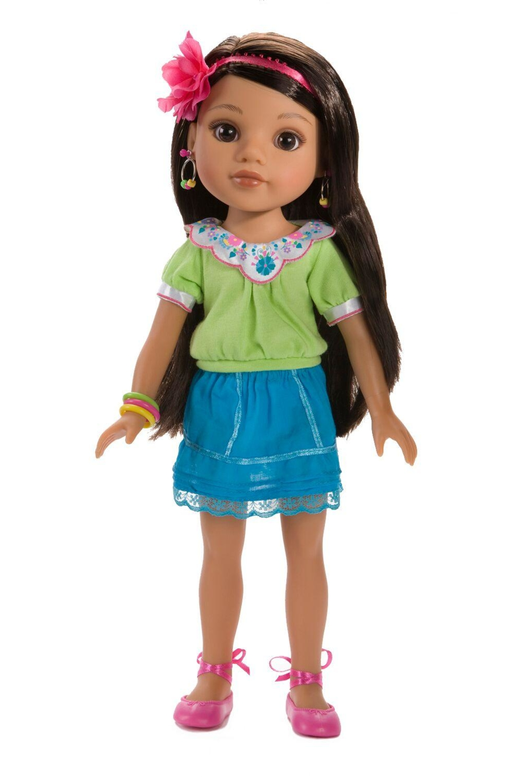 Hearts for Hearts Dolls Consuelo Doll - Front Cropped Image