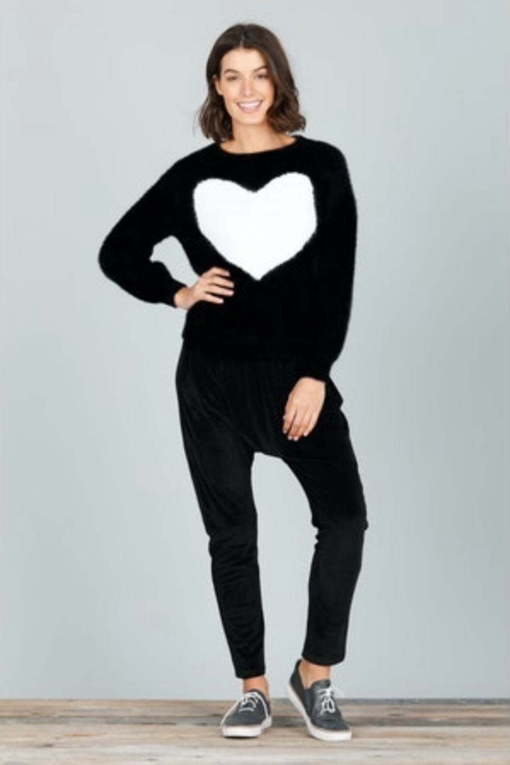 Brave and True Heartscape Knit - Front Full Image