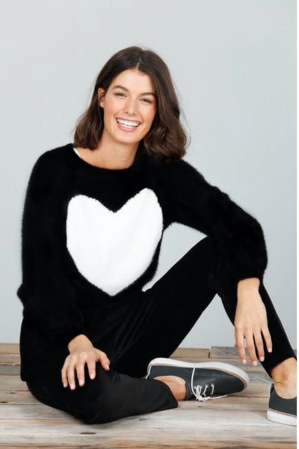 Brave and True Heartscape Knit - Main Image