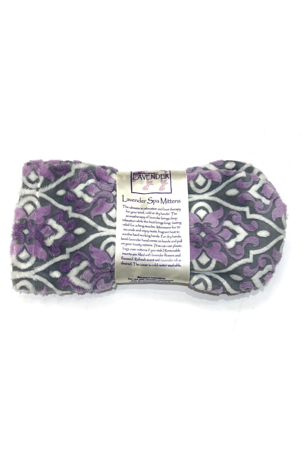 Sonoma Lavender Heated Lavender Mittens - Front Full Image