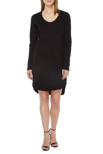 Heather French Terry Scoop Dress - Main Image