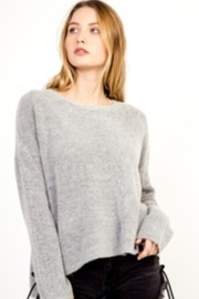 Olivaceous Heather Grey Sweater - Product Mini Image