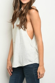 Popular Basics Heather Grey Tank - Product Mini Image