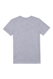 Paul Smith Junior Heather-Grey 'Tedra' T.Shirt - Front full body