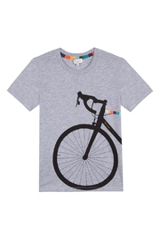 Paul Smith Junior Heather-Grey 'Tedra' T.Shirt - Front cropped