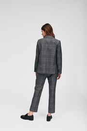 Tara Jarmon Heather Plaid Blazer - Other