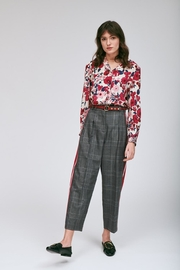 Tara Jarmon Heather Plaid Pant - Product Mini Image