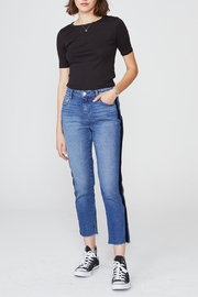 Unpublished Heather Ribbon Jeans - Front cropped