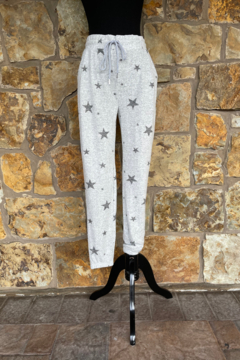 Shoptiques Product: Heather Star Hacci Jogger