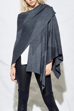 Heather Stria Poncho - Alternate List Placeholder Image