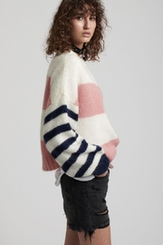 One Teaspoon Heather Stripe Sweater - Product Mini Image