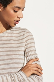 Vince Heather Stripe Tee - Product Mini Image