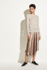 Vince Heather Stripe Tee - Front full body
