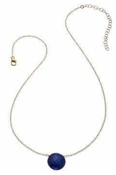 Shoptiques Product: Faceted Coin Necklace