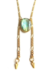 Heather Kahn Labradorite Bolo Necklace - Product Mini Image
