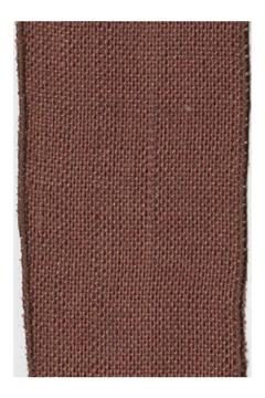 Heather Scott Home & Design Chocolate Burlap Ribbon - Alternate List Image