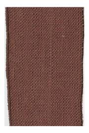 Shoptiques Product: Chocolate Burlap Ribbon