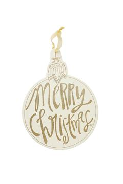 Heather Scott Home & Design Christmas Ornament Sign - Alternate List Image