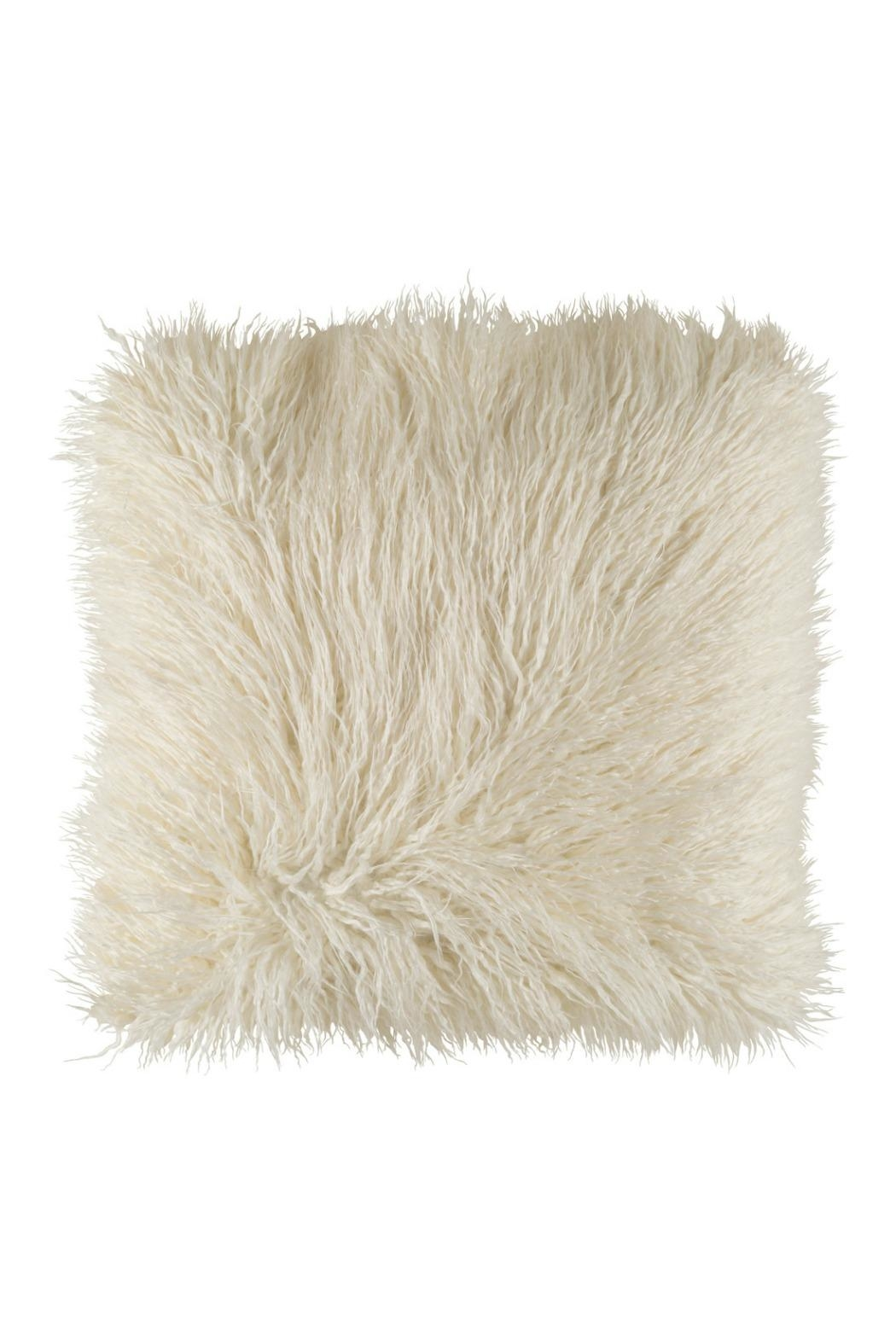 Heather Scott Home Design Furry Pillow From Austin Shoptiques