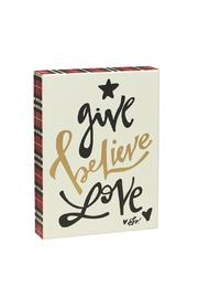 Shoptiques Product: Give Believe Sign