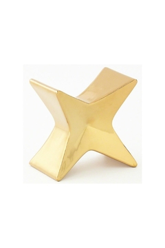 Shoptiques Product: Gold Minimalist Object