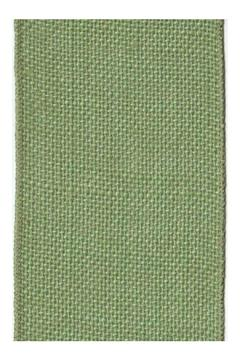 Heather Scott Home & Design Green Burlap Ribbon - Alternate List Image