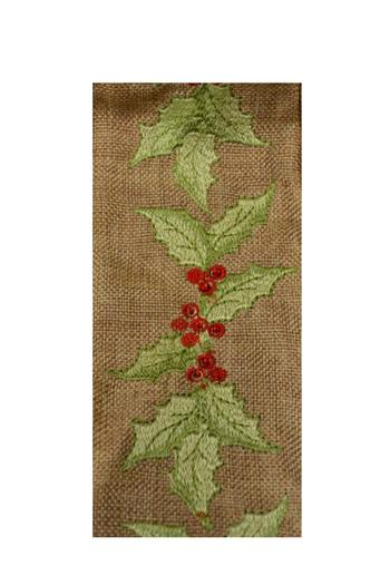 Heather Scott Home & Design Holly Berries Ribbon - Main Image