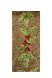 Heather Scott Home & Design Holly Berries Ribbon - Front cropped