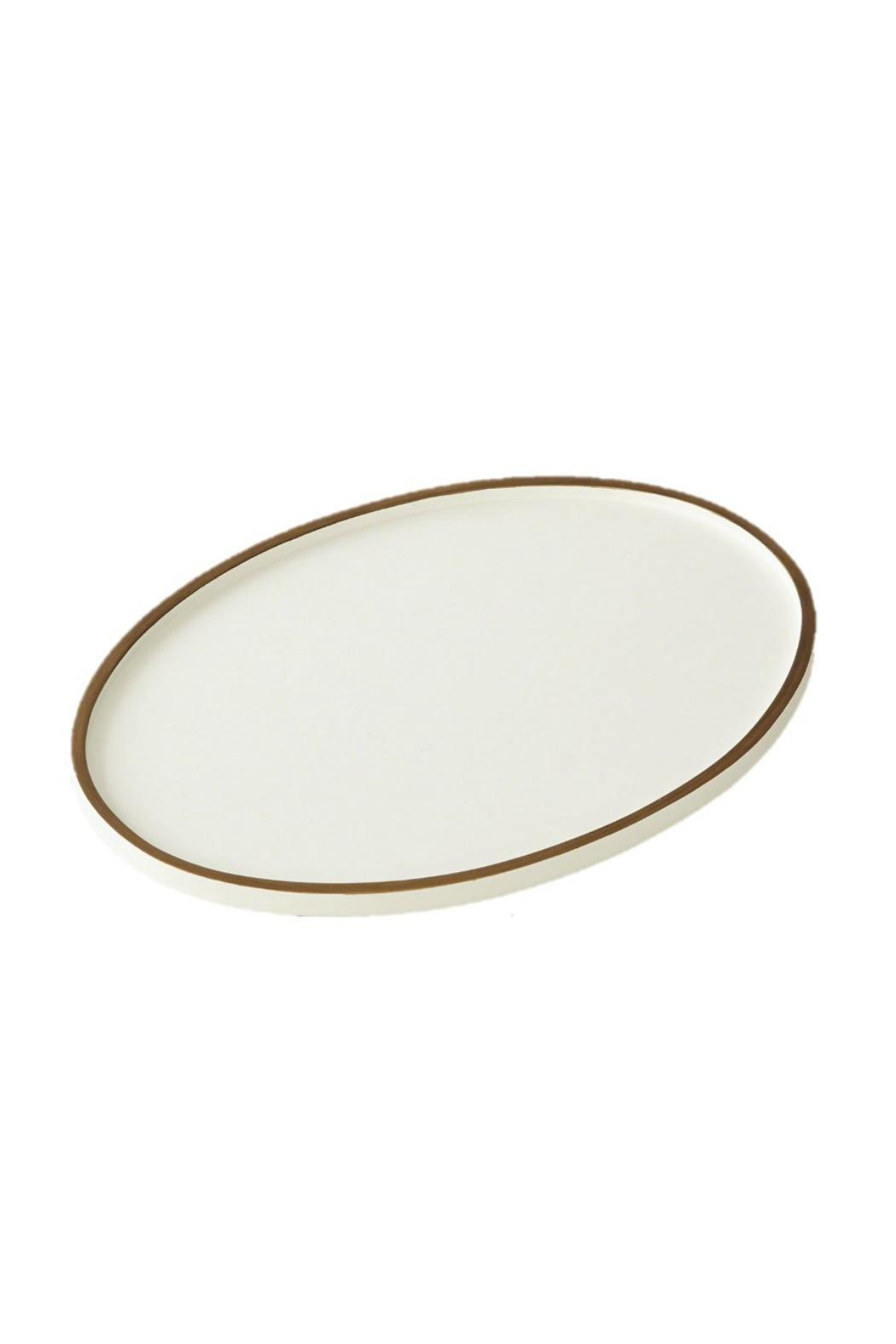 Heather Scott Home & Design Oval Drink Tray - Front Cropped Image