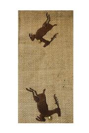 Heather Scott Home & Design Reindeer Burlap Ribbon - Product Mini Image