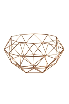 Shoptiques Product: Rose Gold Basket