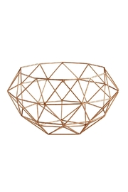 Heather Scott Home & Design Rose Gold Basket - Product Mini Image