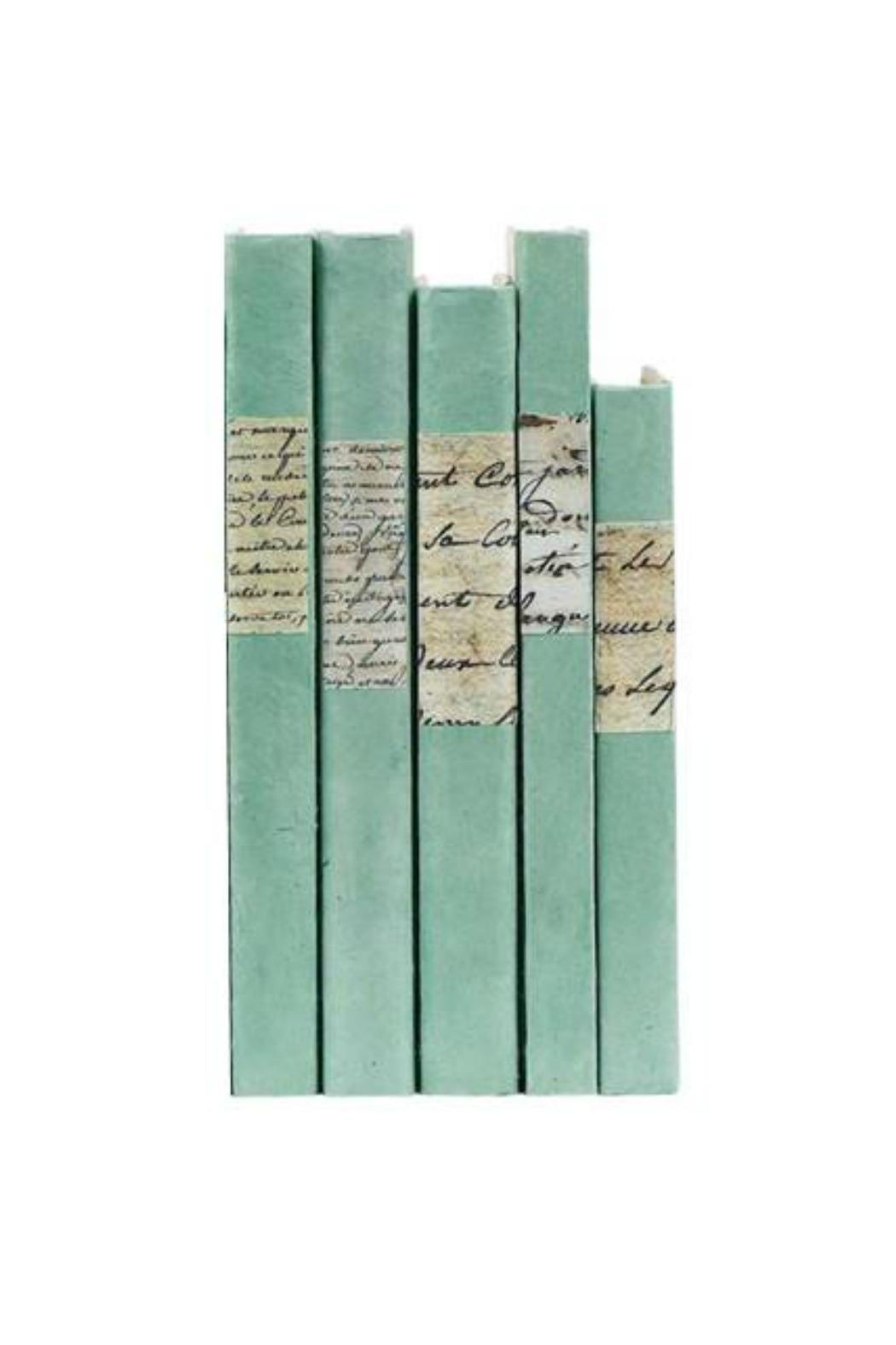 Heather Scott Home & Design Sage Spine Books - Front Cropped Image