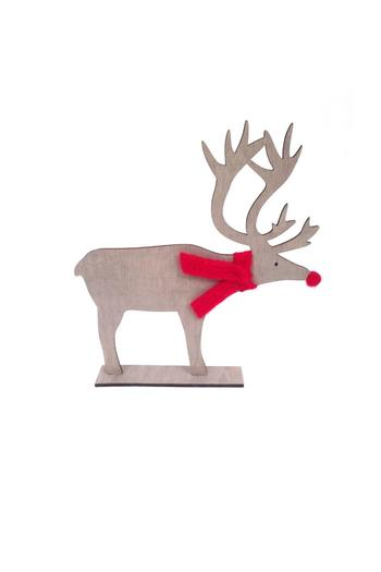 Shoptiques Product: Small Scarf Deer - main