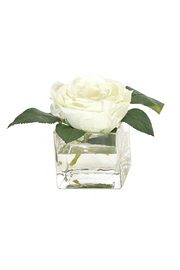 Heather Scott Home & Design White Faux Rose - Product Mini Image
