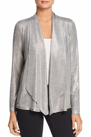 3 Dot Heathered Foil Cardigan - Product Mini Image