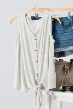 Trend:notes Heathered Shadow Tank - Alternate List Image