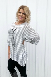 Andree by Unit Heathered Sweater Tunic - Product Mini Image