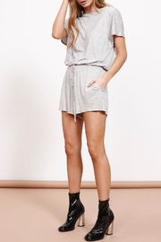 MPC Heathered Tee Romper - Product Mini Image