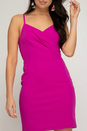 She + Sky Cami Dress - Front cropped