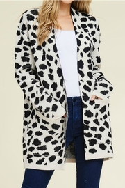 Staccato Heavy Leopard Cardigan - Product Mini Image