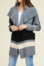 Staccato Heavy Sweater Jacket - Product Mini Image