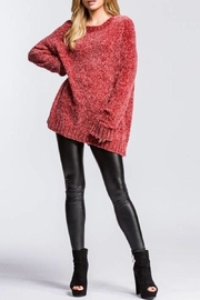 Cherish Heavyweight Chenille Sweater - Product Mini Image