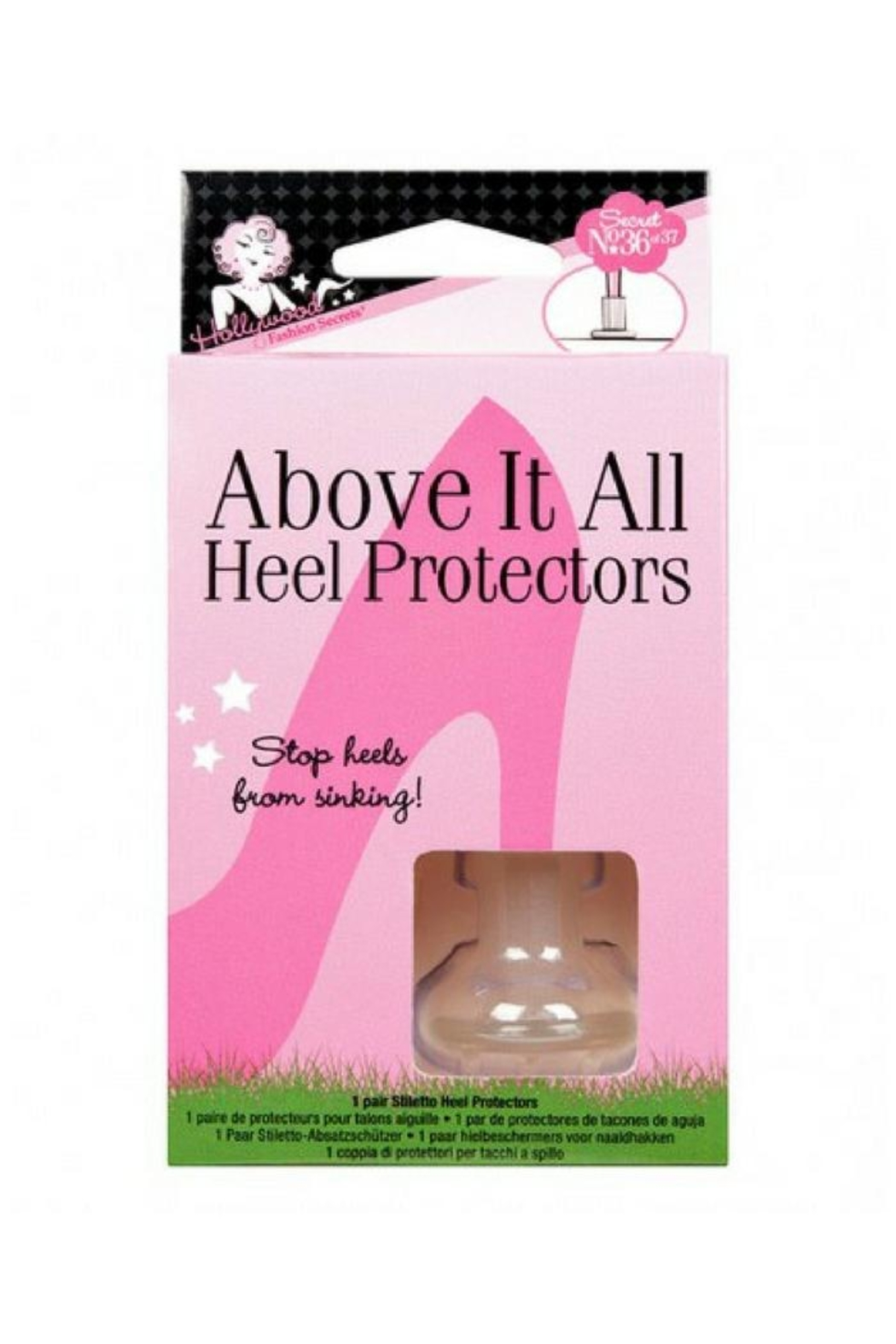 Hollywood Fashion Secrets Heel Protectors - Main Image