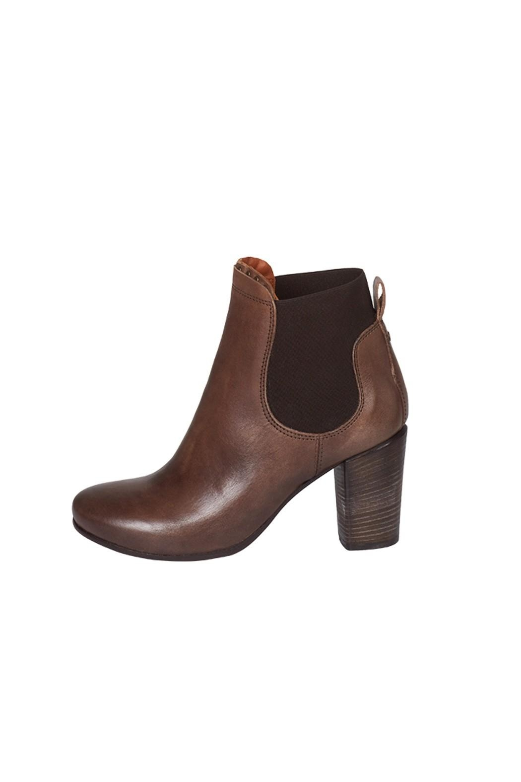Lady Doc Heeled, Ankle, Brown - Main Image