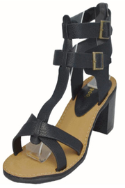 Bamboo Heels - Front full body