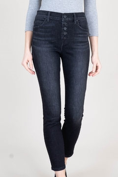 Level 99 Heidi Exposed Button Fly Jeans - Alternate List Image